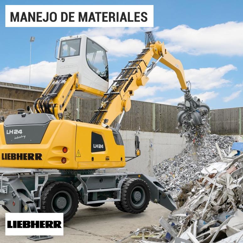 manejo-de-materiales-liebherr-raico-chile-lh-24-industry
